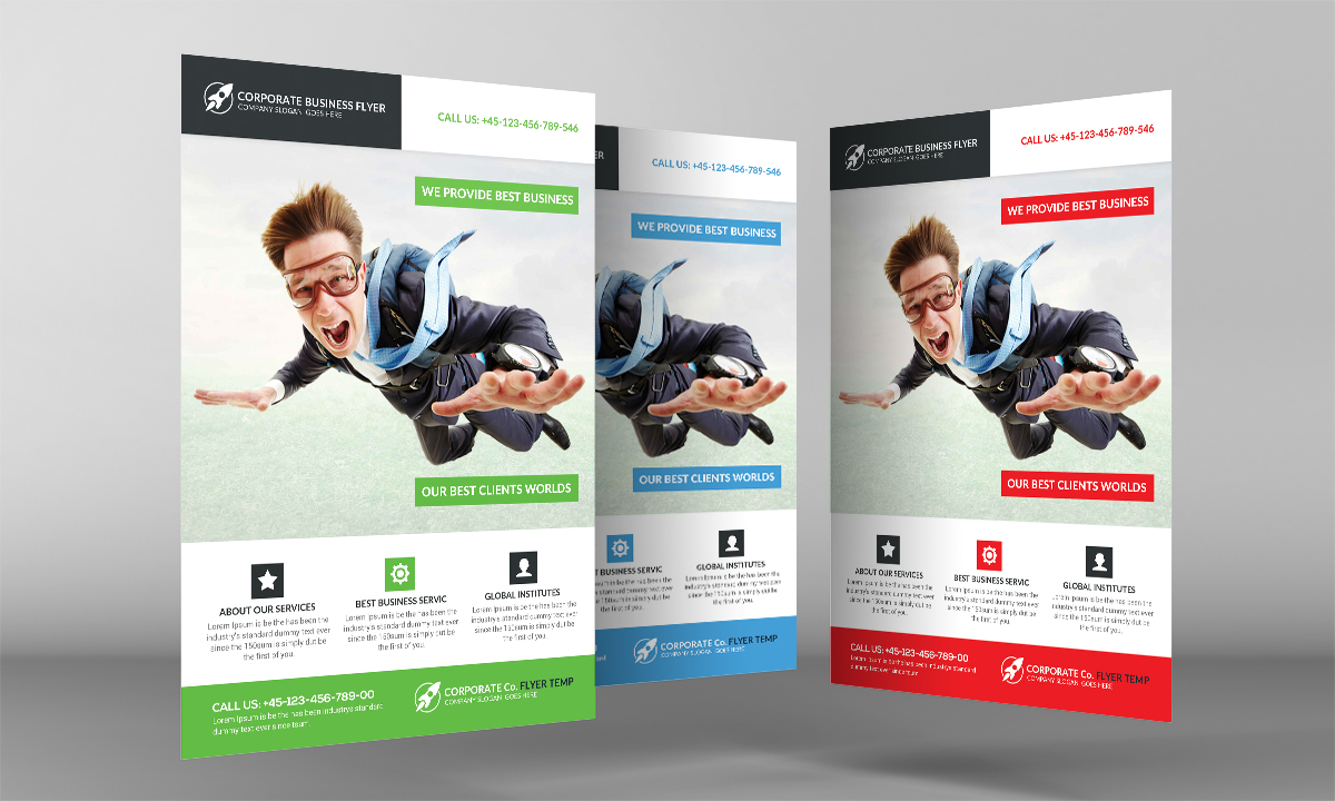 Super Business Flyer Template example image 3