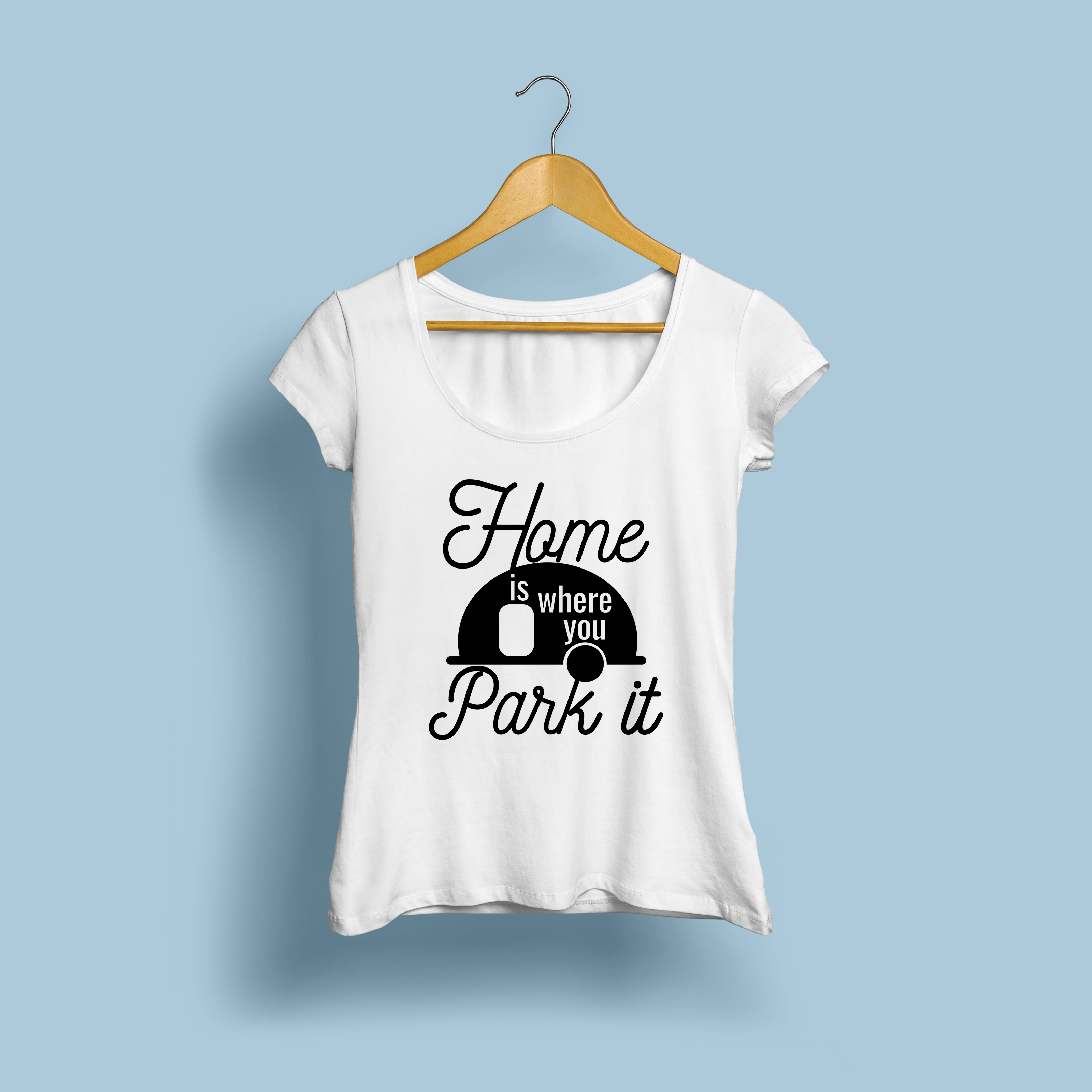 Home is Where You Park It | Cut File SVG | Printable PNG example image 2