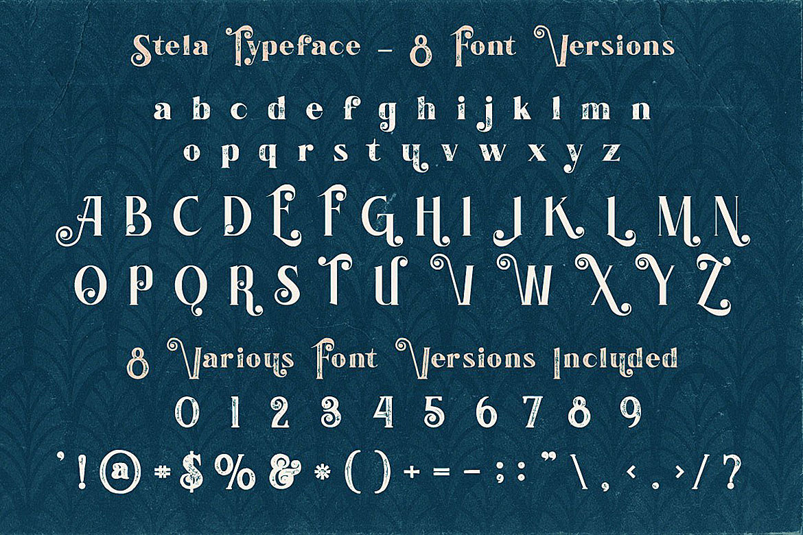 Stela - Display Font example image 4