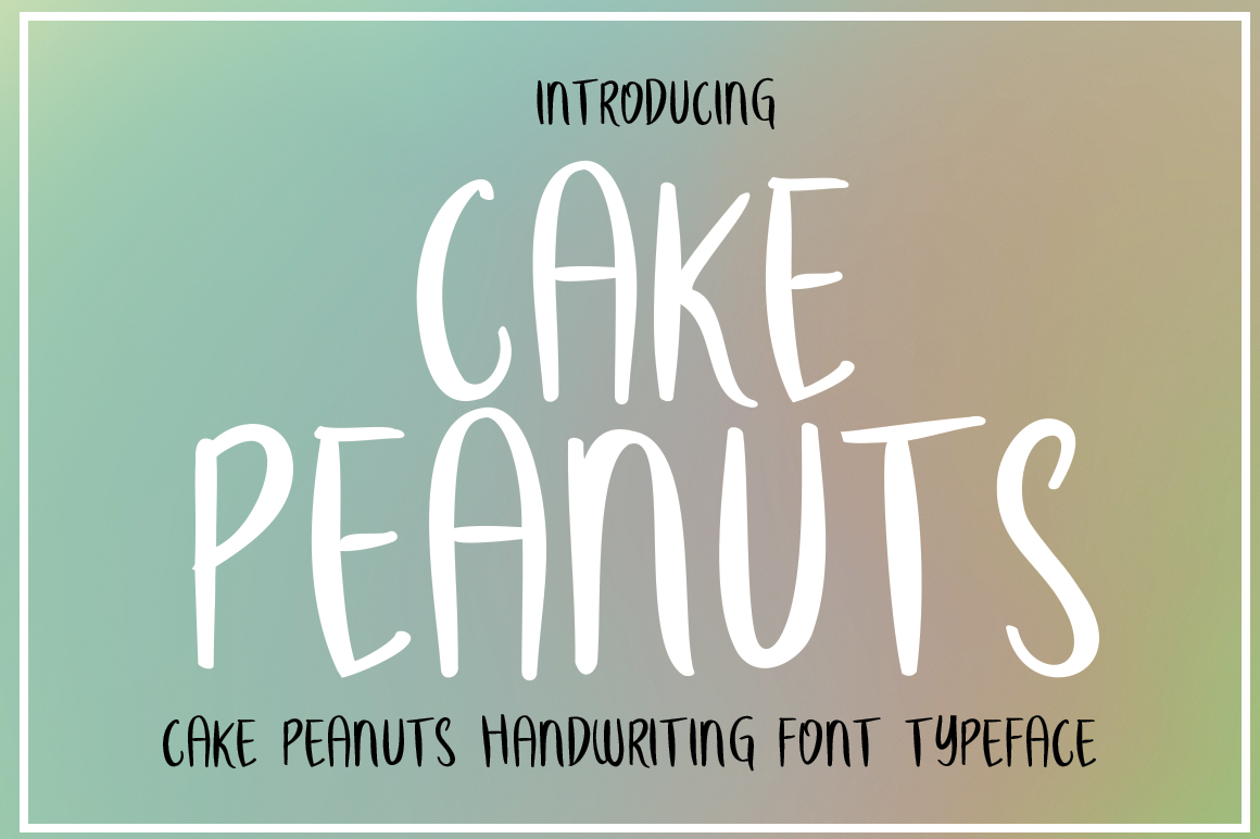 CAKE PEANUTS example image 1