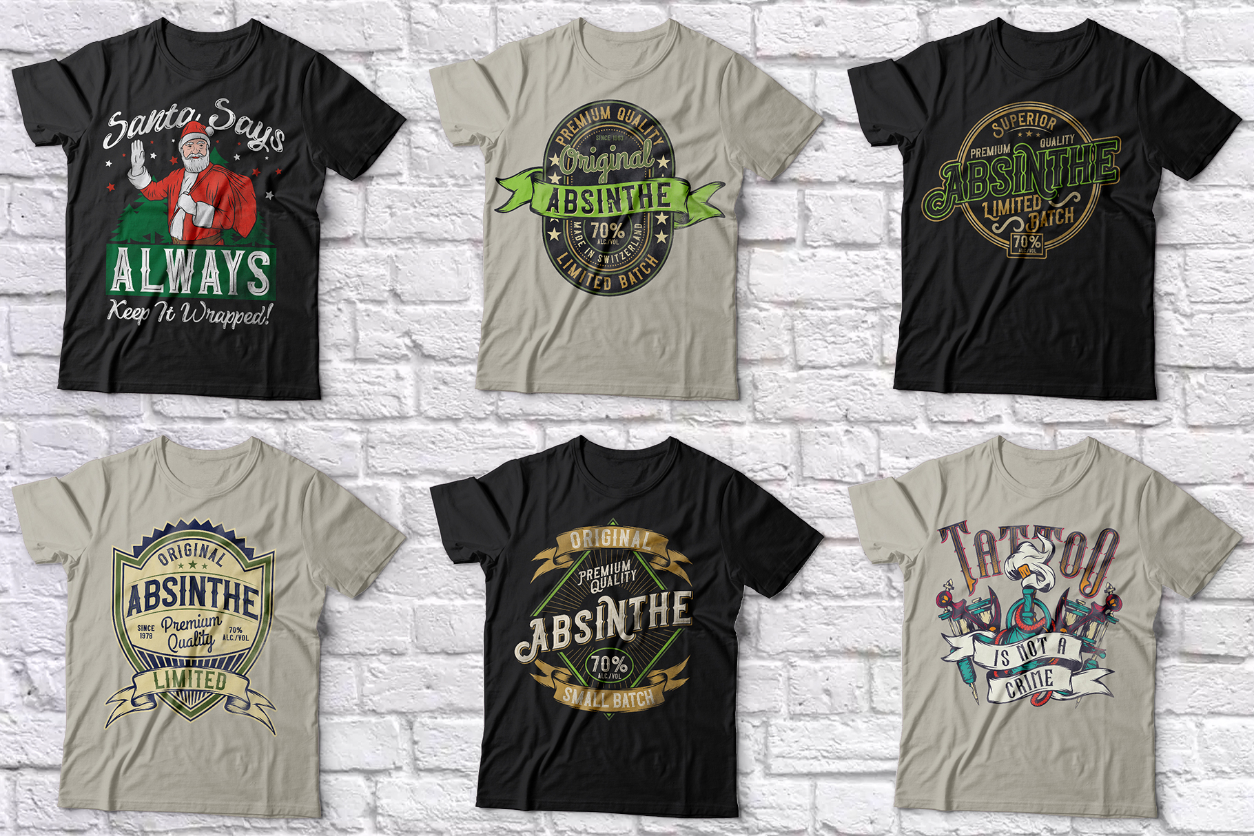 102 ready t-shirt designs BUNDLE example image 9
