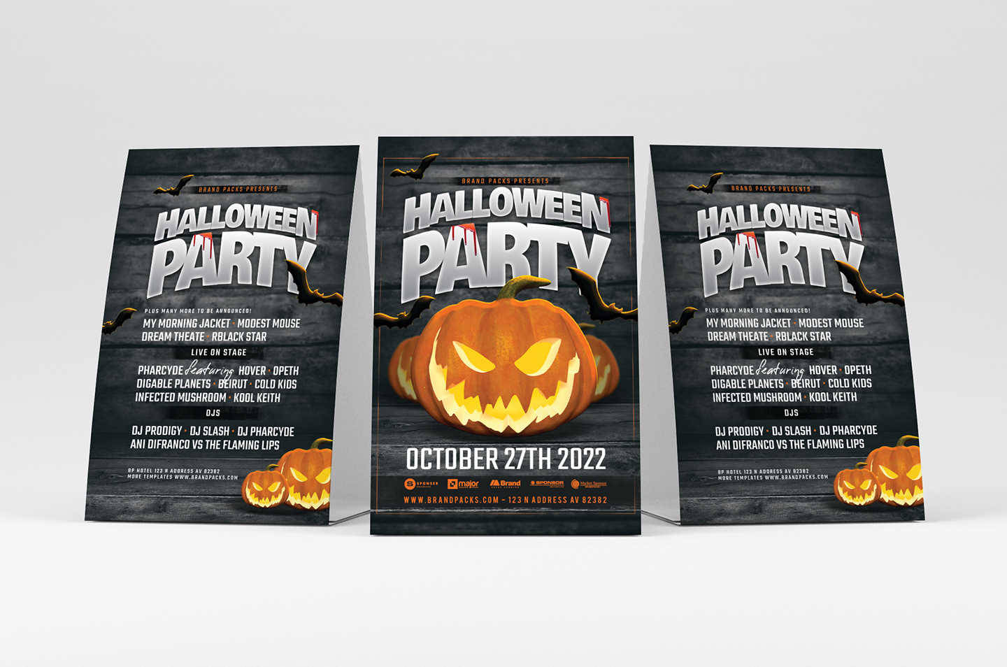 Halloween Party Flyer Template example image 2