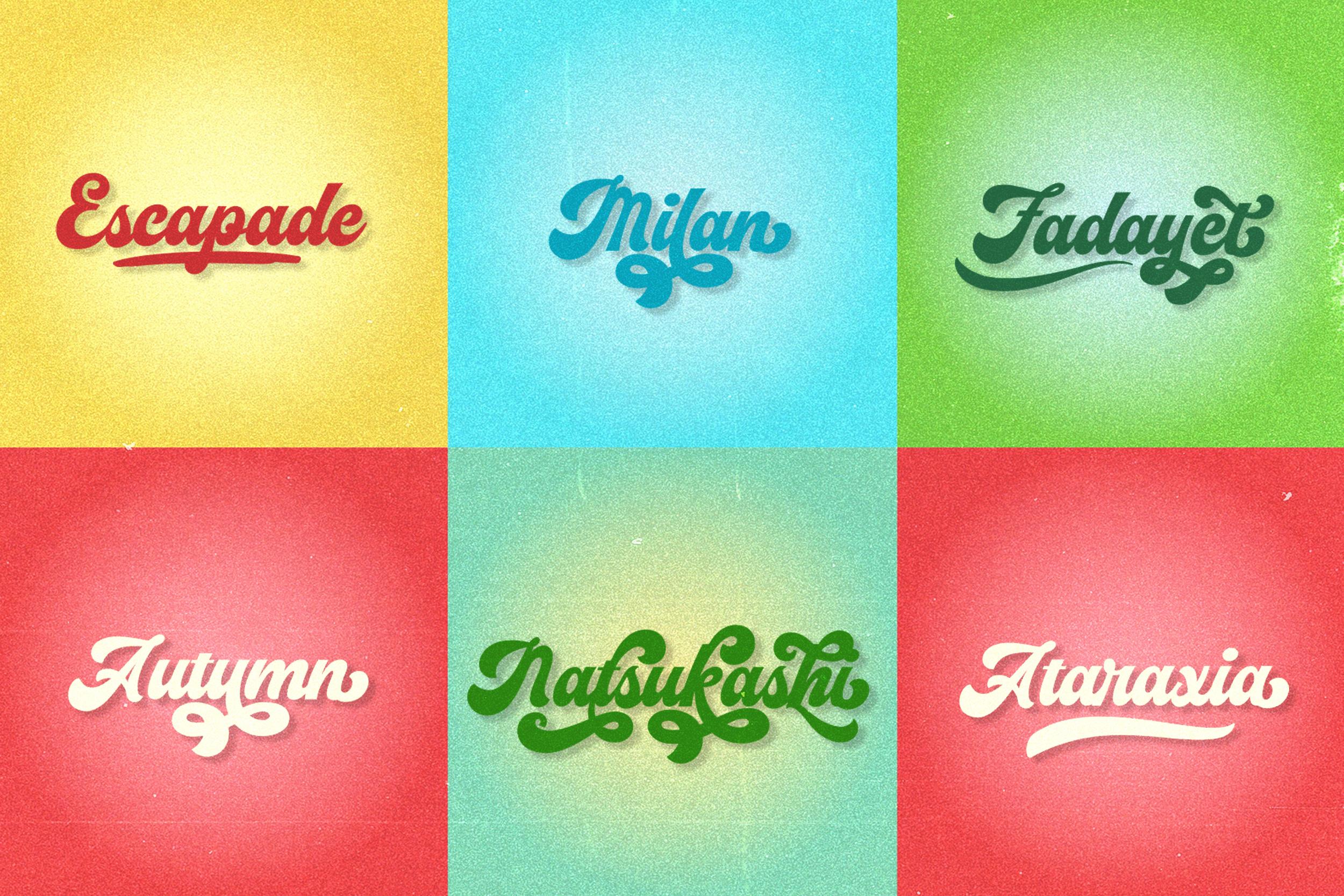 Vignettic Font example image 3