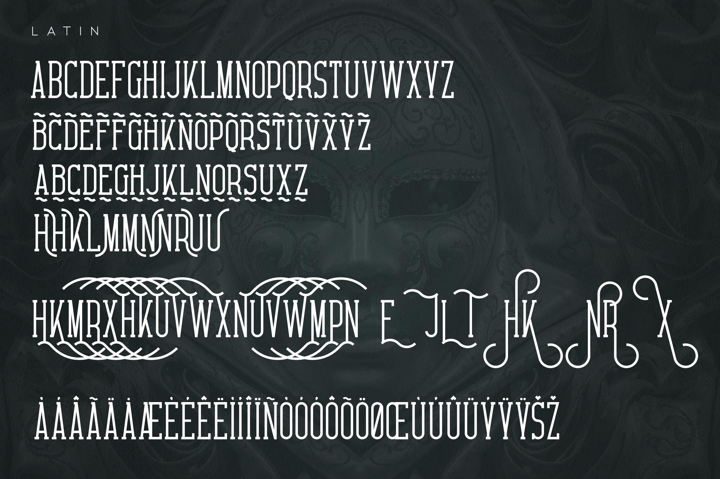 Carnival VP Slab - Latin & Cyrillic example image 8