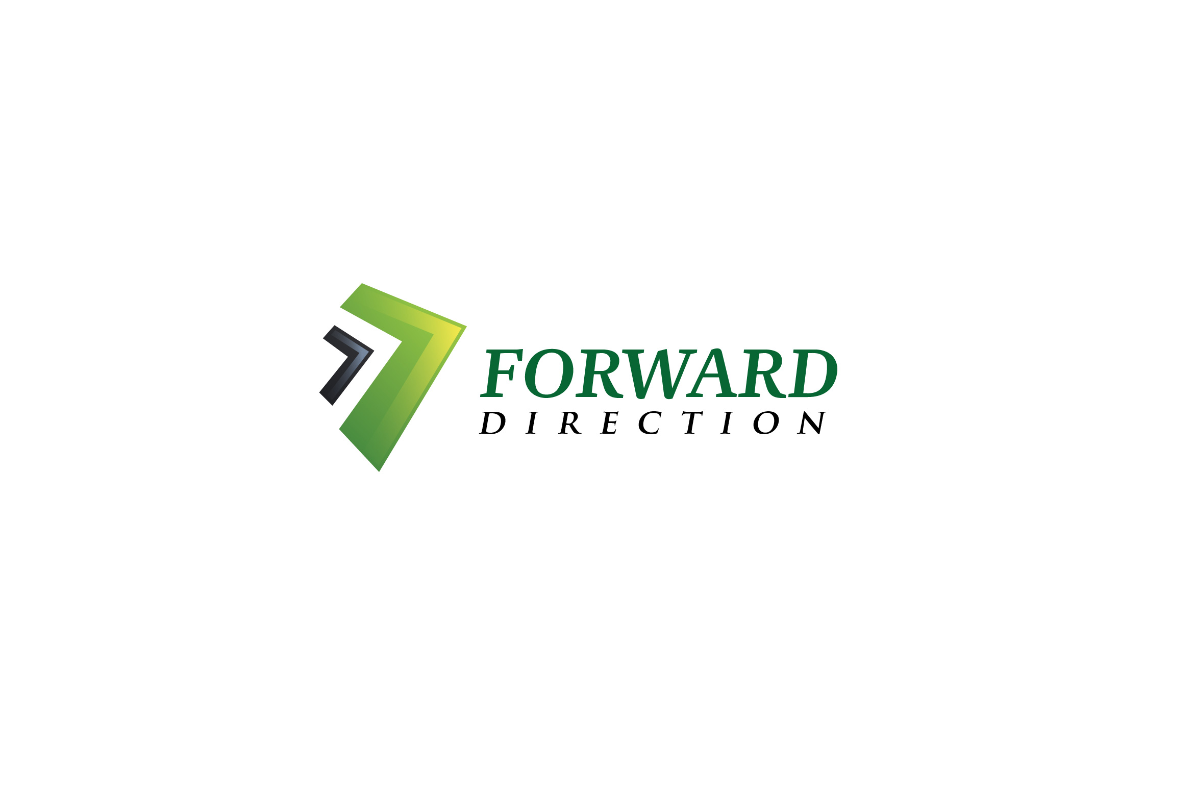 Forward Direction - Technology Logo Templates example image 1