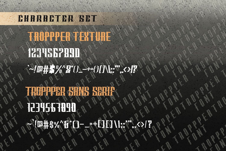 Tropper - 10 Elegant Fonts example image 3