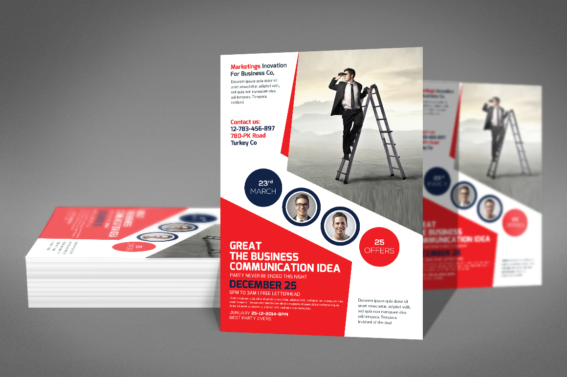 Company Flyer Template example image 3
