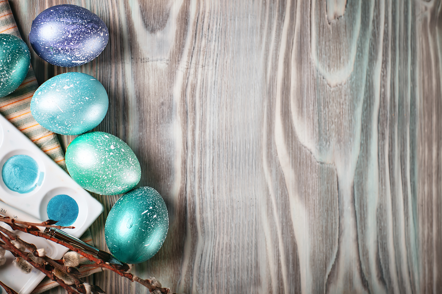Bundle of greeting Easter backgrounds. example image 10