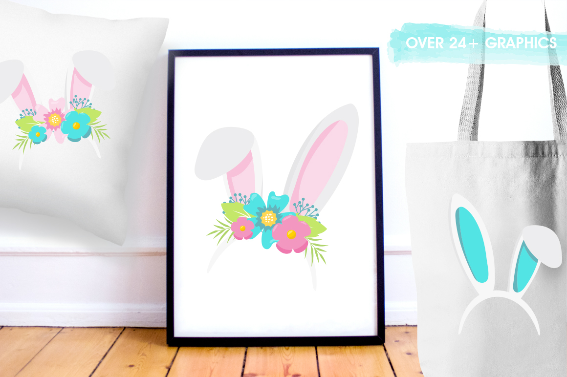 Happy Easter graphic and illustrations example image 4