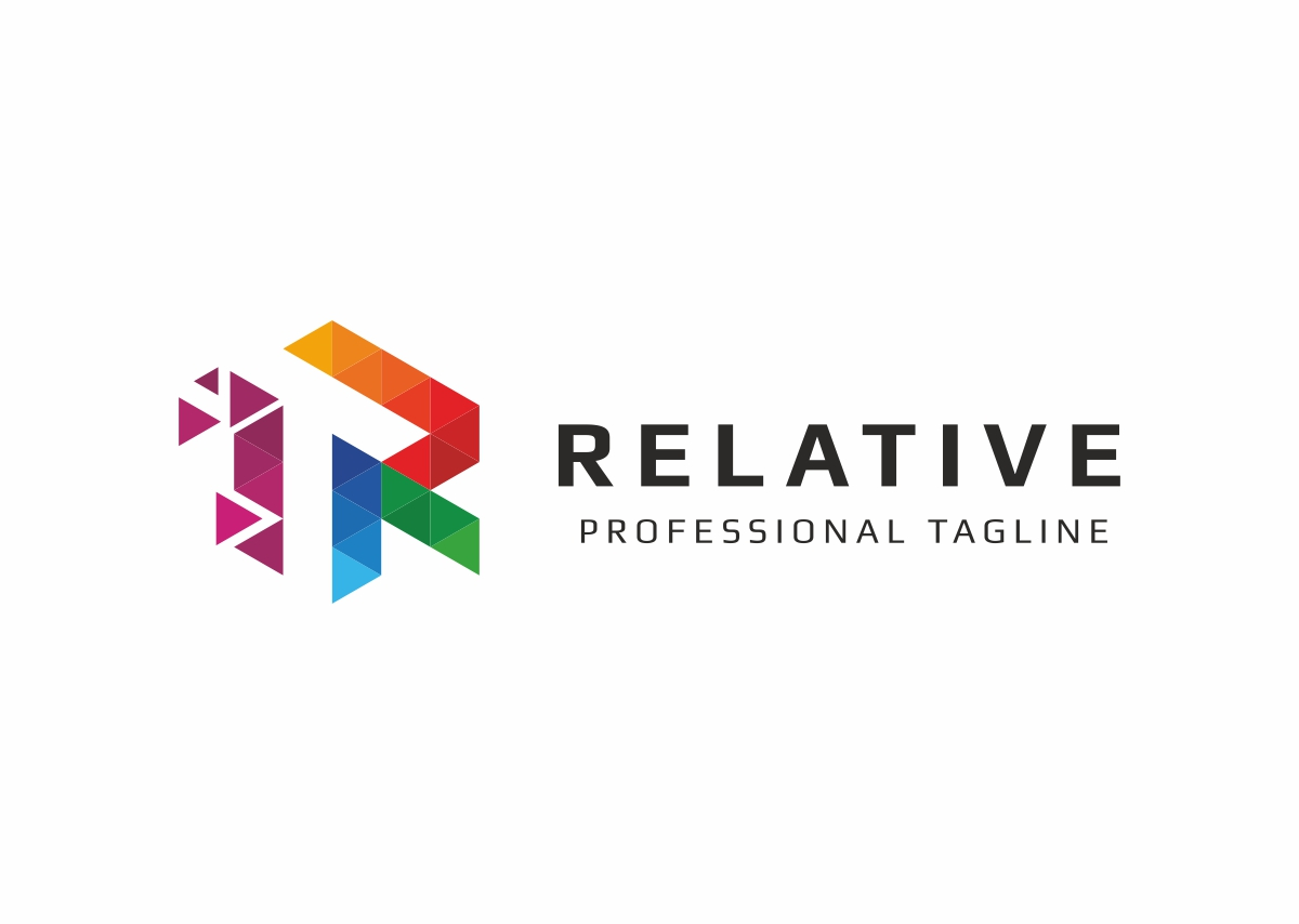 Relative R Letter Logo example image 3