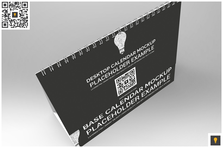 Desktop Calendar Mockup example image 5