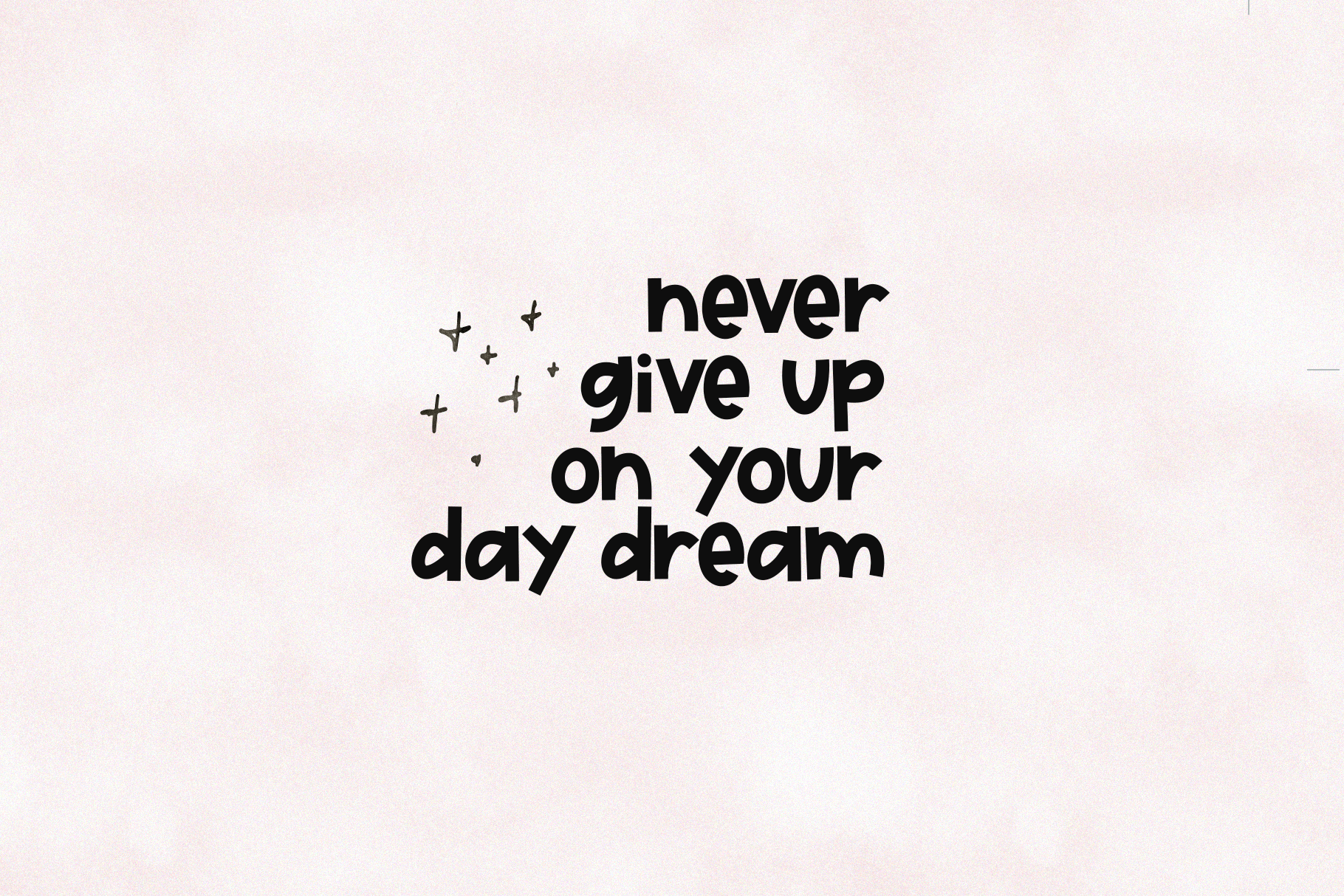 Day Dreamer - A Bold & Cute Handwritten Font example image 3