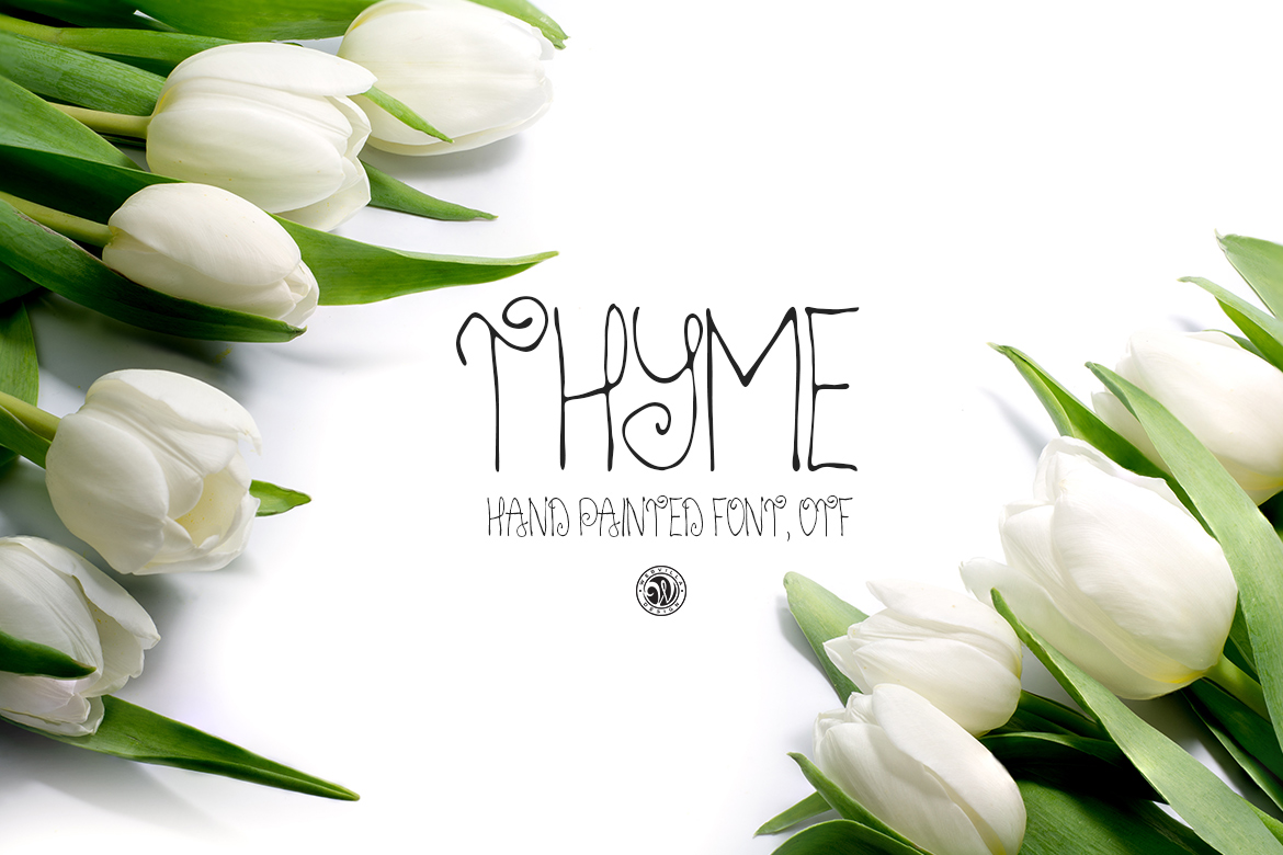 Thyme Font example image 5