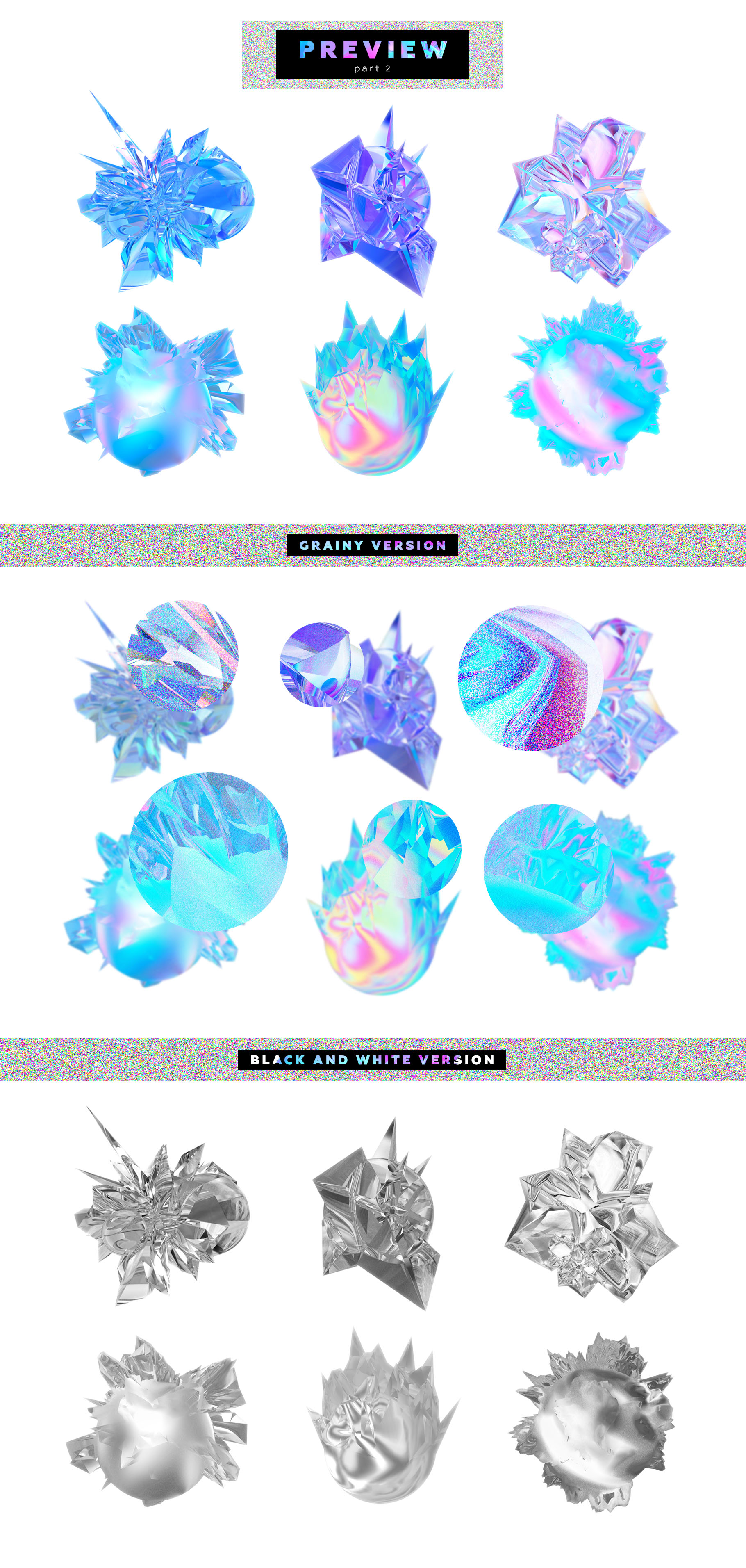 Crystalic - abstract shapes example image 9