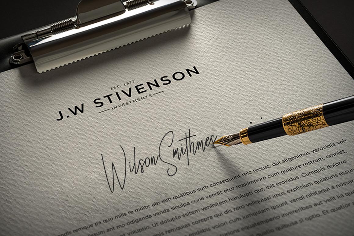 Besttones Signature Font example image 6