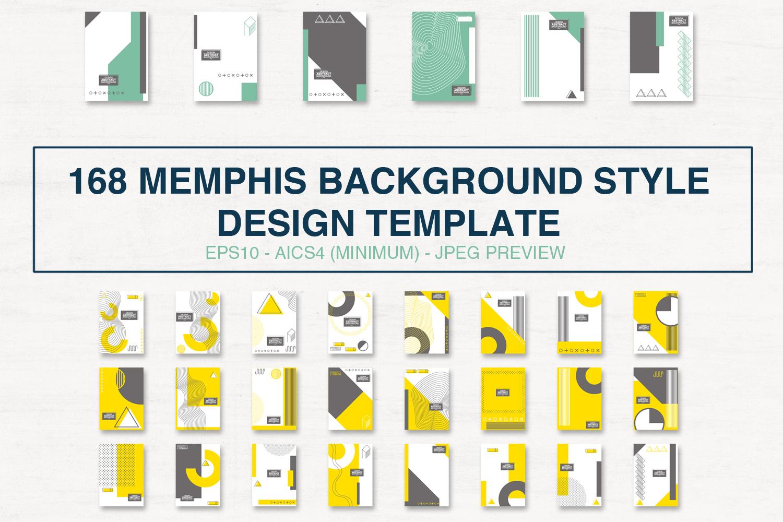 Neo Memphis Set Background Elements example image 1