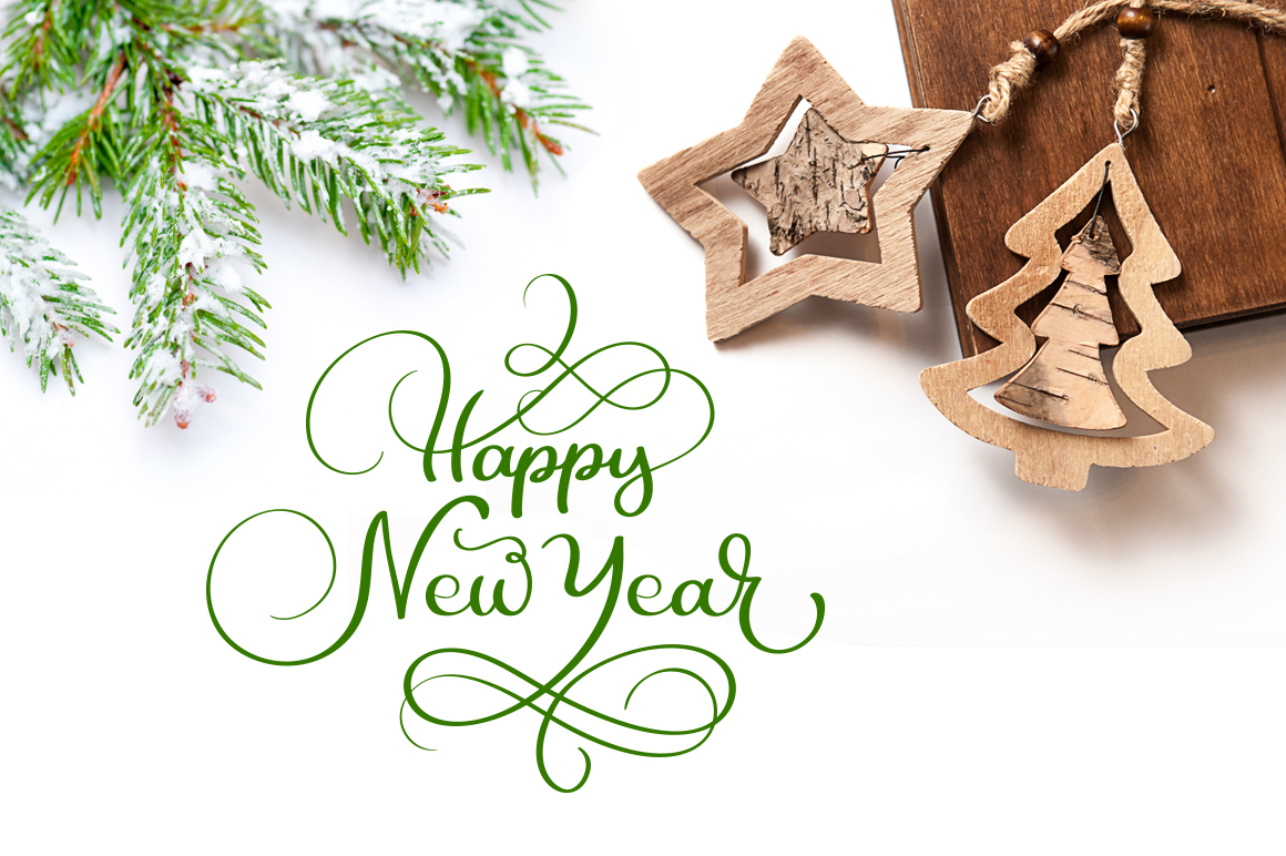 Merry Christmas Quotes and Objects Calligraphy Collection example image 5
