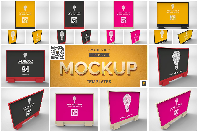 Flyer Mockup Bundle 50% SAVINGS example image 5