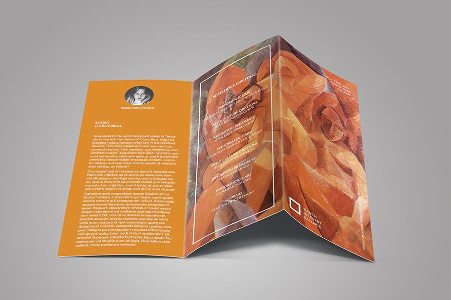 Art Exhibition Brochure example image 5