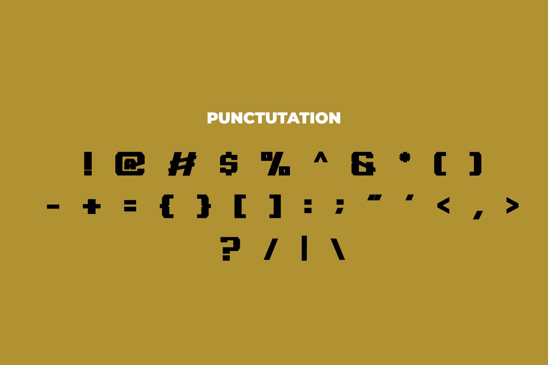 REGUILON Dispplay Font example image 7