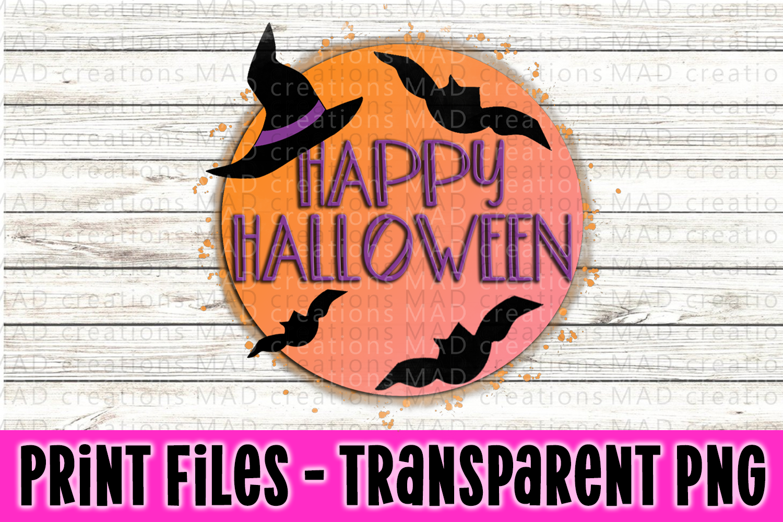 4 PNG Halloween Bundle - Print File example image 3
