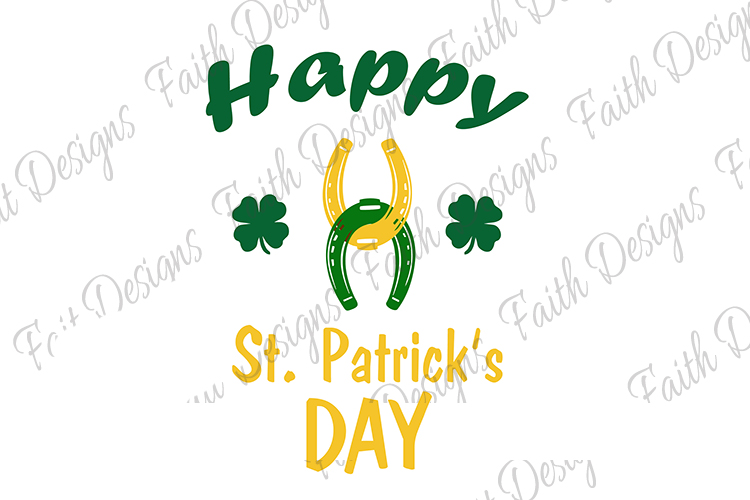Happy St. Patrick's Day Horseshoes example image 3
