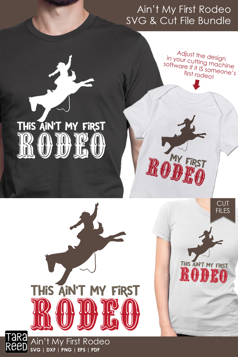 Ain't my First Rodeo - Rodeo SVG and Cut Files for Crafters example image 3