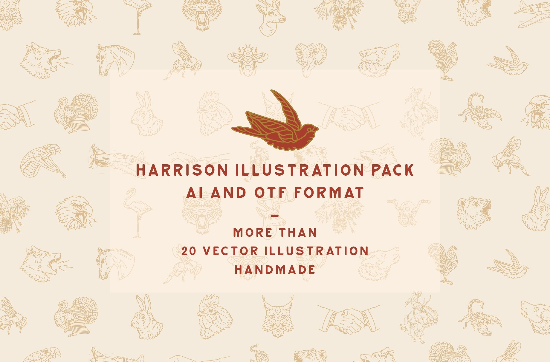 Harrison Font Family example image 5