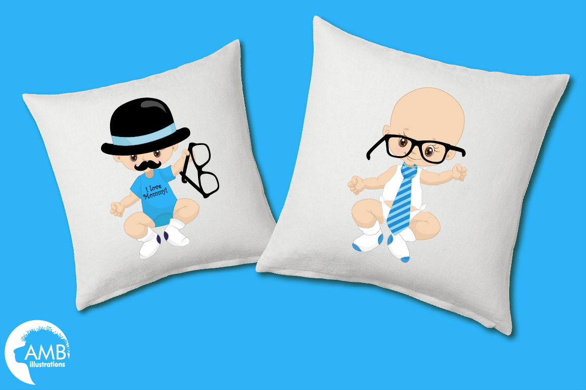 Little Man clipart, graphics, illustrations AMB-1291 example image 3
