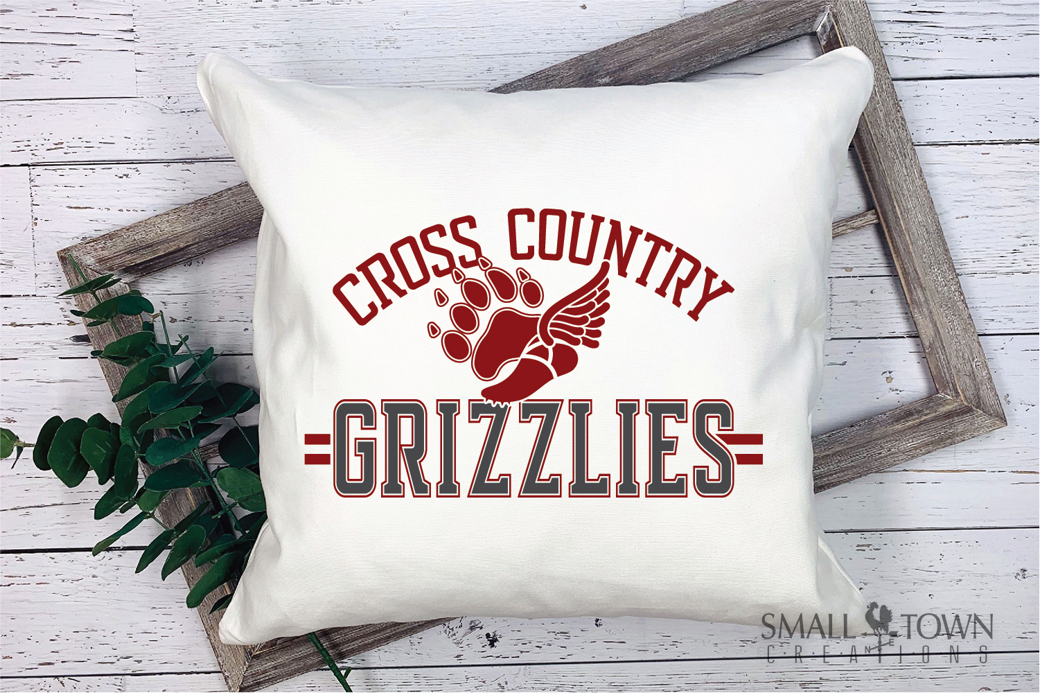 Grizzlies Cross Country, Sports, Logo, PRINT, CUT & DESIGN example image 3