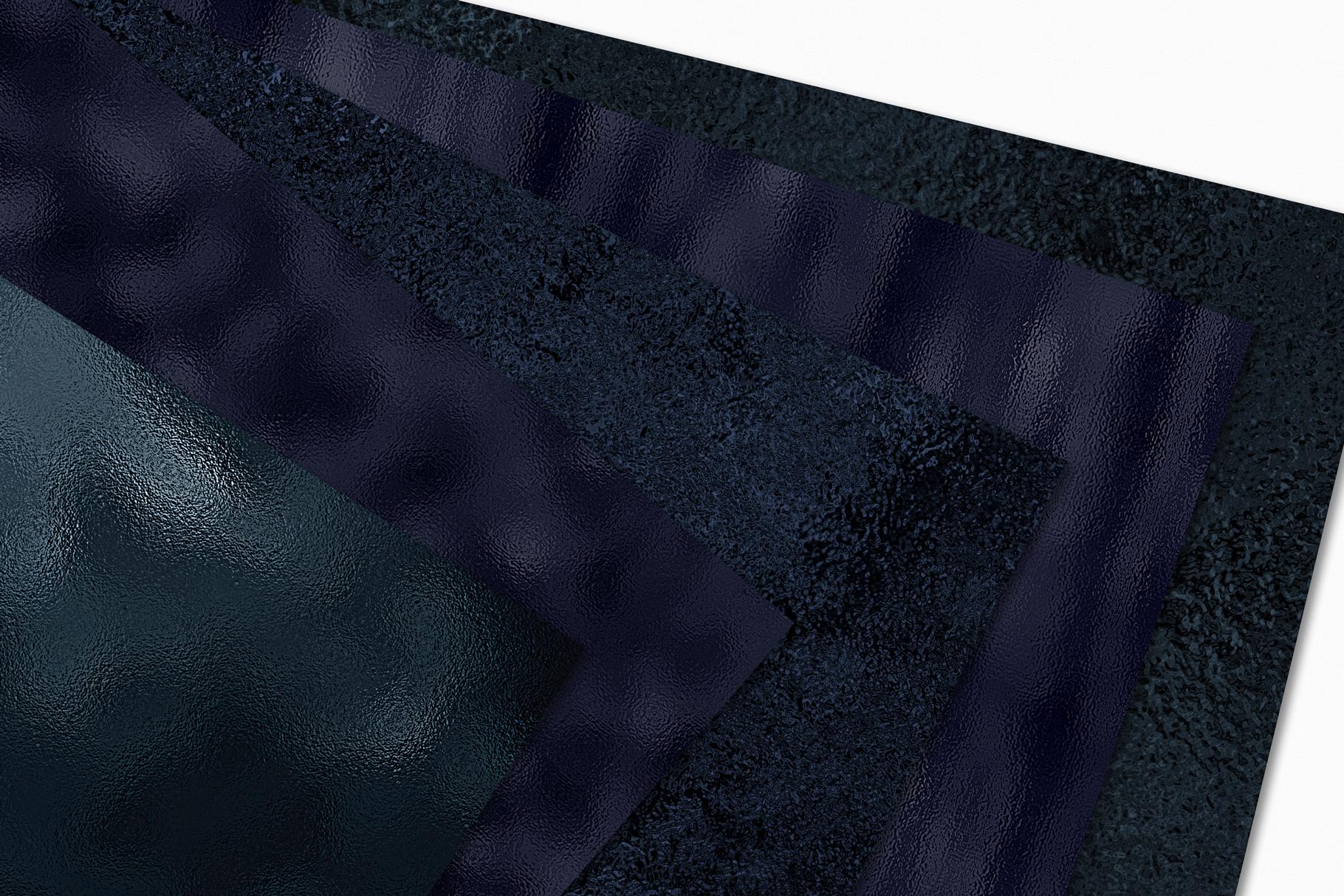 Dark Metallic Textures - 15 Foil & Glitter Digital Papers example image 4
