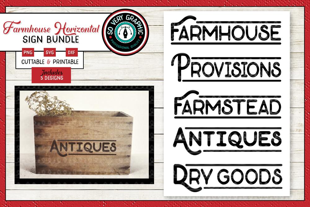 Vintage Farmhouse Bundle | Over 50 Designs | SVG Cut Files example image 8