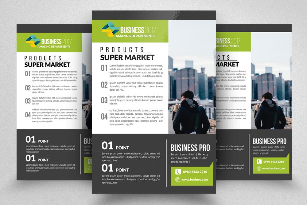 10 Multi Use Business Flyers Bundle example image 4