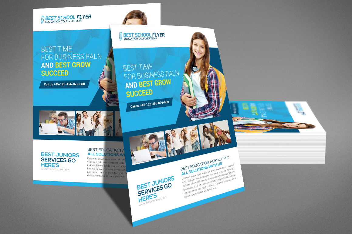 Corporate Flyer Psd example image 4