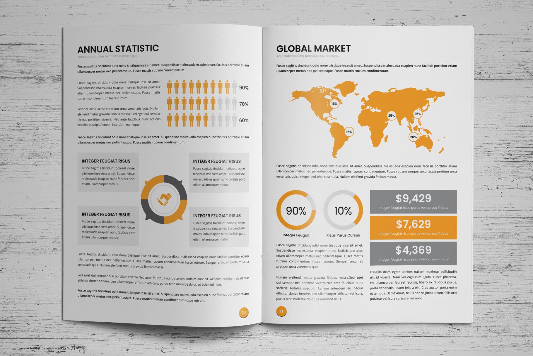 Annual Report Design v6 example image 7