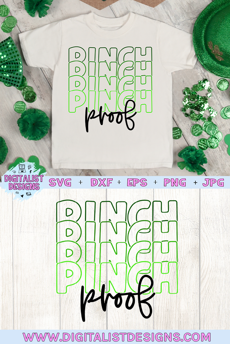 Pinch Proof SVG | St. Patrick's Day SVG example image 2