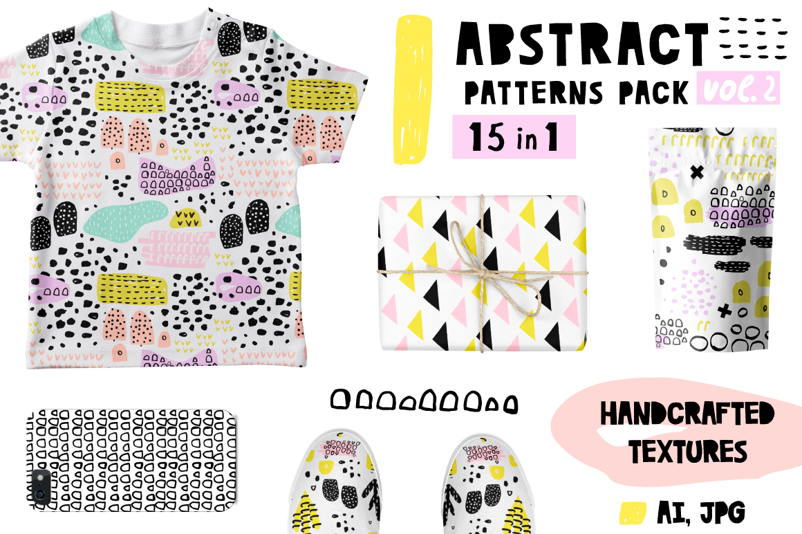 Abstract pattern pack vol.2 example image 1