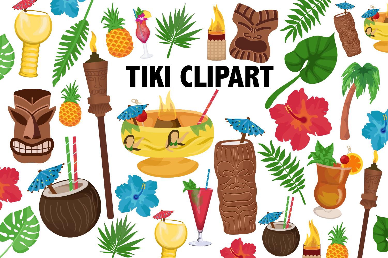 Tiki Clipart example image 2