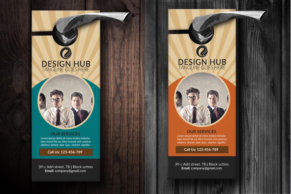 Business Advisor Door Hangers example image 2