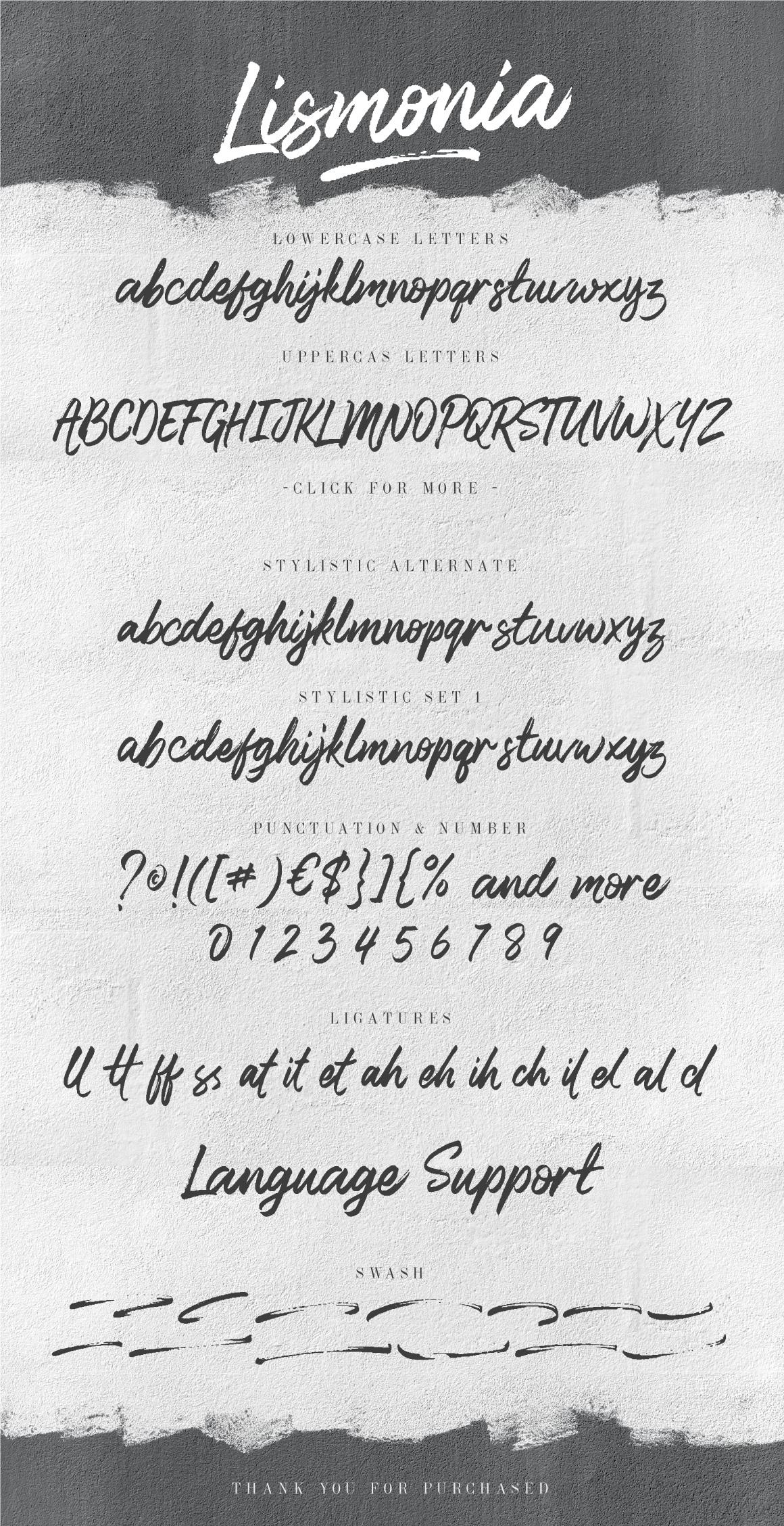 Lismonia Font example image 8
