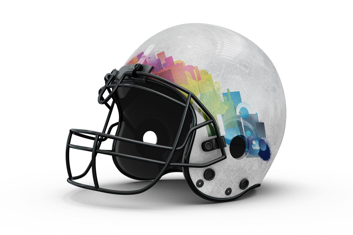 Football Helmet Mockup example image 3
