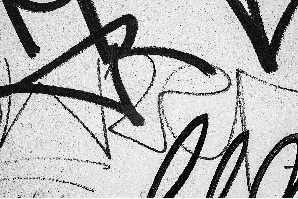 20 Graffiti Textures - Vector & JPG example image 4