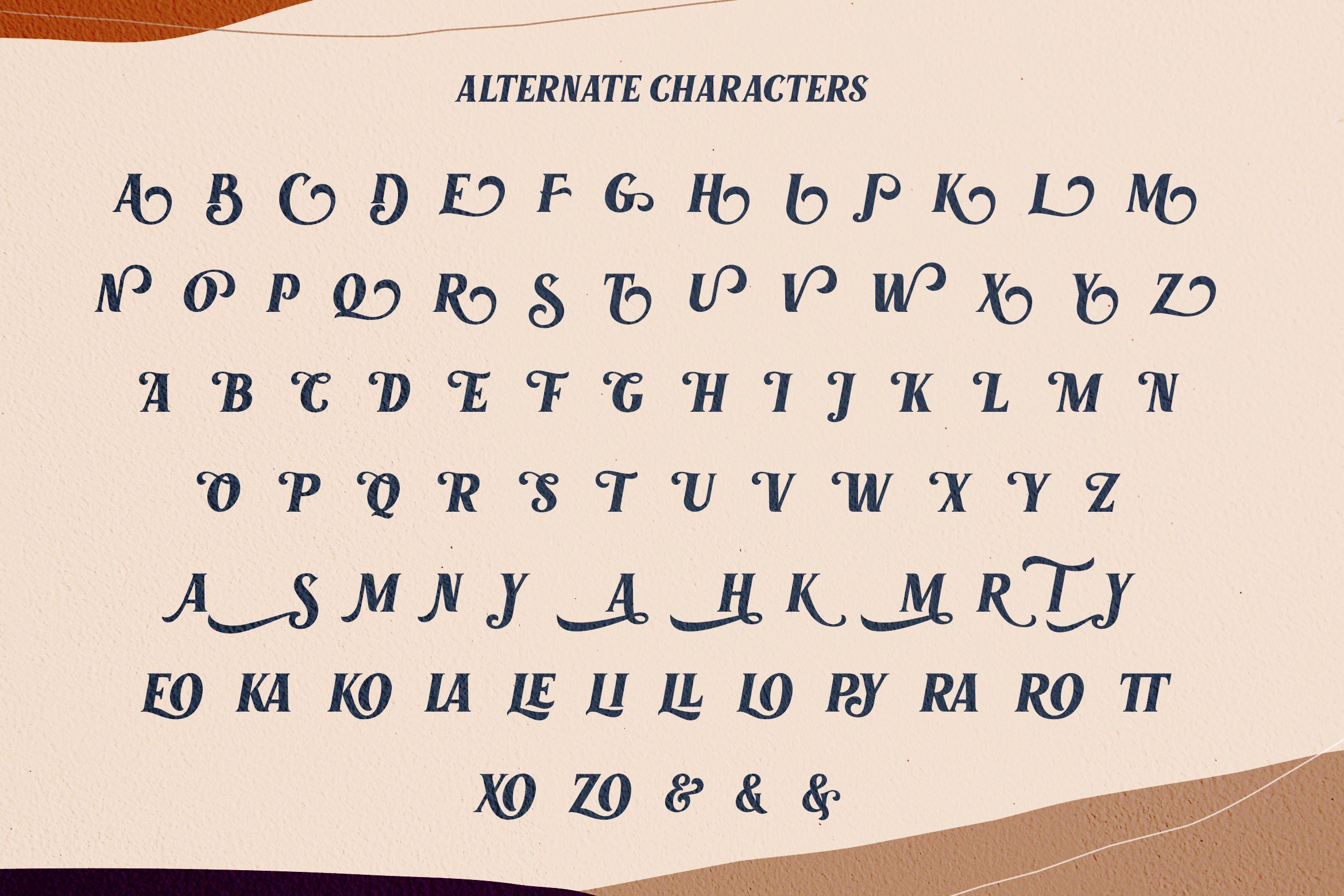 Marons Font example image 8