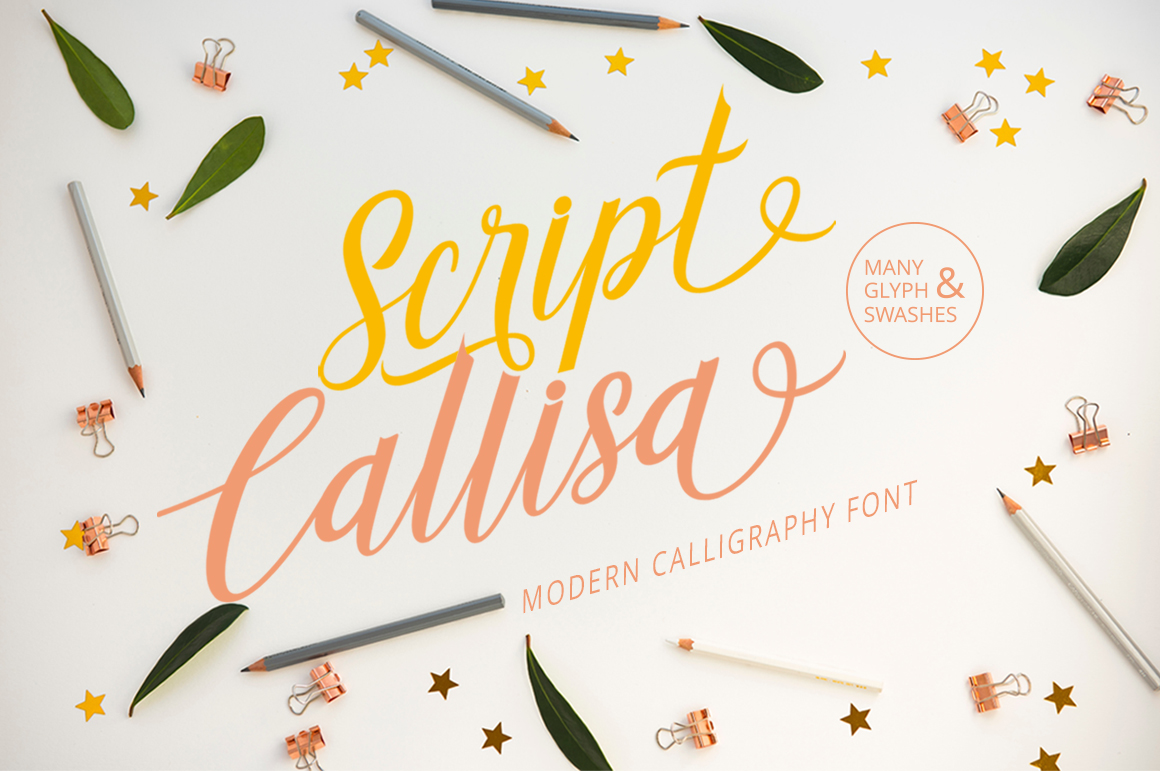 Callisa Script example image 2