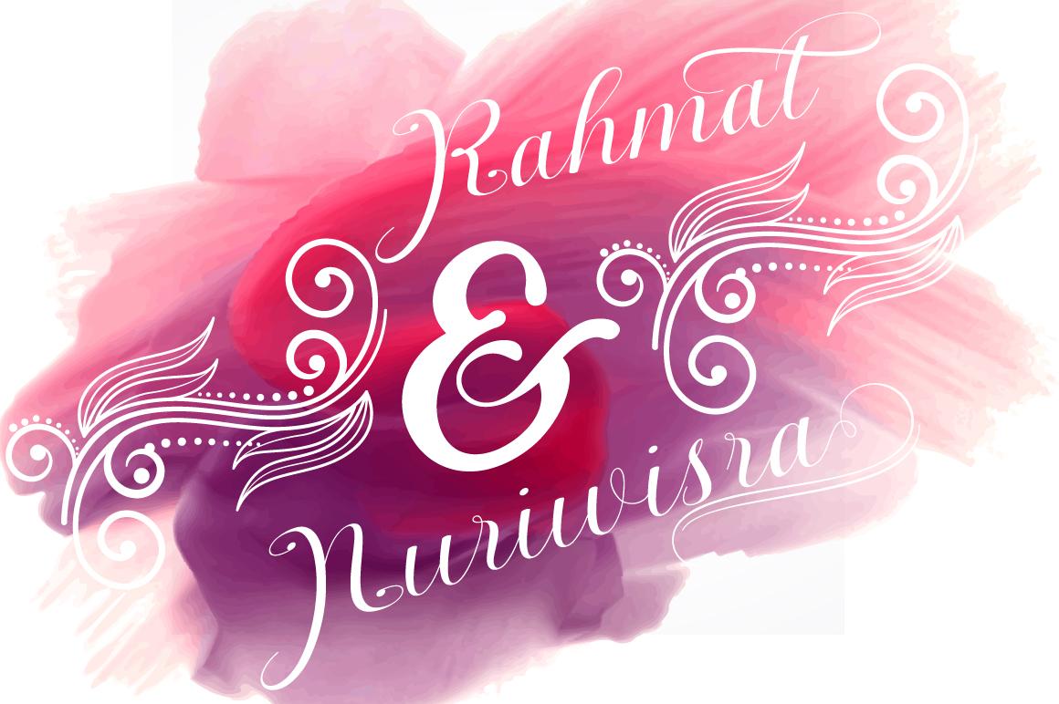 Nantiya font duo example image 6