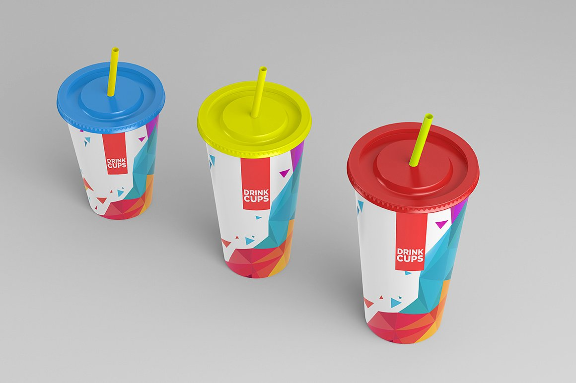 Drink Cups Mock-Up example image 6
