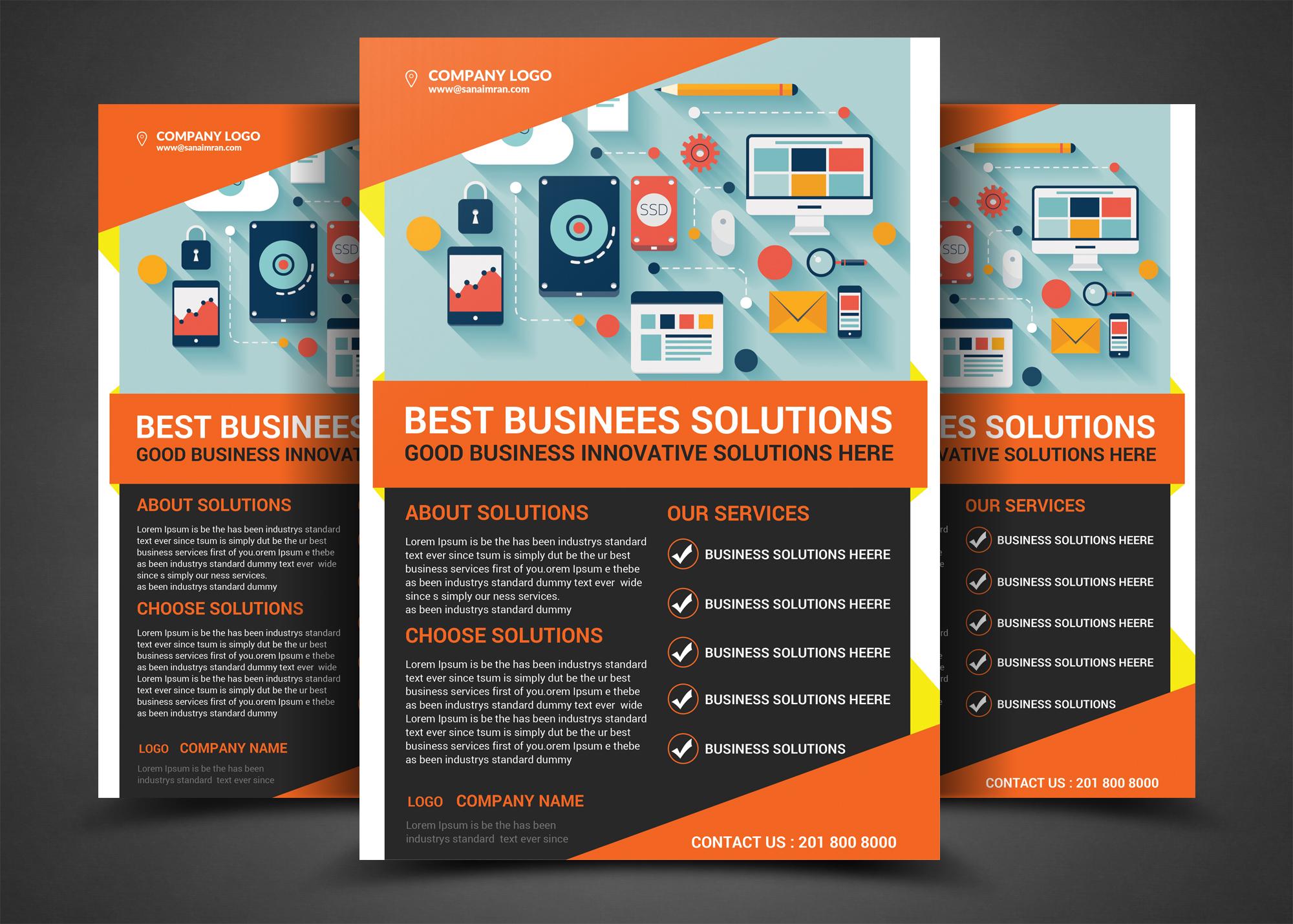 Corporate Business Bundle 4 example image 5