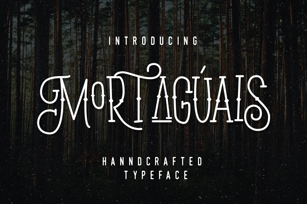 Mortaguais Typeface example image 1