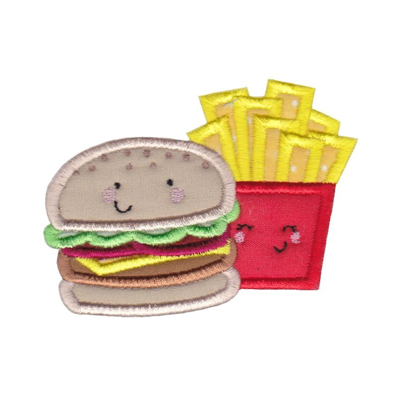 Food Duos Applique - 12 Machine Embroidery Designs example image 8