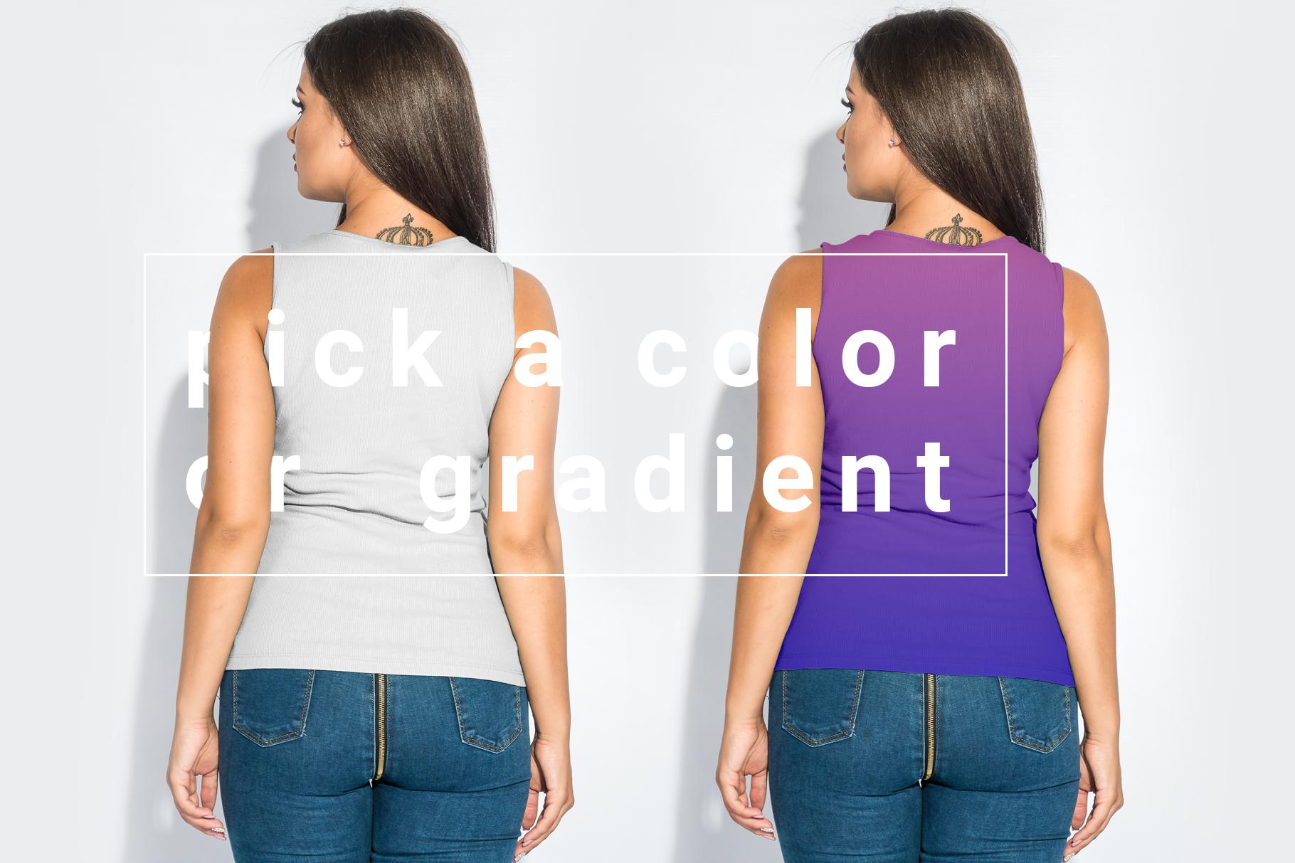 Plus Size T-shirt Mockup Bundle example image 4
